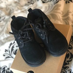 Ugg boots for young boy. Worn 2-3 times. Very warm